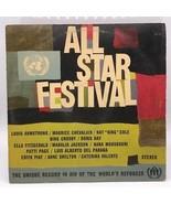 Vintage UNICEF All Star Festival Record LP Vinyl Album Bing Crosby Doris... - $4.94
