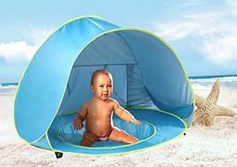 Monobeach Baby Beach Tent Pop up Portable Shade Pool UV Protection Sun S... - $52.71 CAD