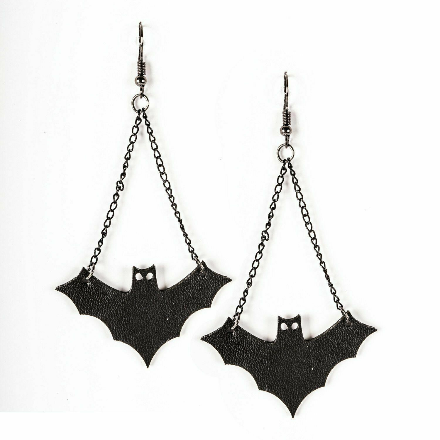 Primary image for Bat Earrings New Halloween Fish Hook Style Jewelry Pierced