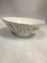 Rosenthal Sommerbluten Summer Blossoms Bettina Bowl salad 9 inch Vintage - $59.39