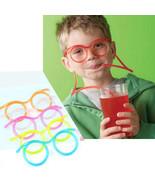 Aihogard 2016 Creative Funny Soft Glasses Straw Unique - $9.95