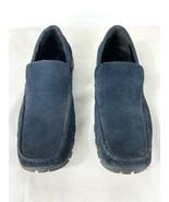 Kenneth Cole Reaction Blue Suede Men's Dress Shoes Size 11M WO4923 - $49.95