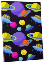 """Pingo World 0722QA0AYV4 """"Planets and Spaceships"""" Gallery Wrapped Canvas ... - $54.40"""