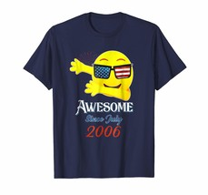 Brother Shirts - Emoji Awesome Since JULY 2006 Merica Sunglasses Gift T ... - $19.95+