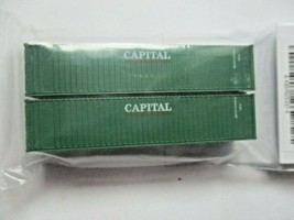 Fox Valley Models # FVM 891104 Capital 40' Corrugated Container 2/Pack N-Scale image 1