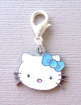 Dangle Pendant Hello Kitty Clip On Charm fits Link Chain, floating locket C6 - $3.95