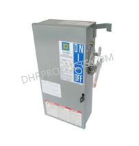 Square D PQ3610GR 100 Amp 600 Volt 3P3W Fusible Busway Switch Bus Plug - $775.00
