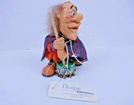 Design Impressions Halloween Witch Figurine w Cauldron Brew Decoration V... - $12.77