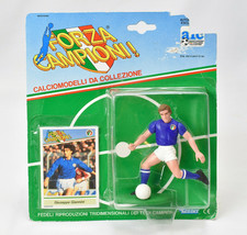 Forza Campioni Giuseppe Giannini Soccer Sports Figurine and Card Kenner  - $17.81
