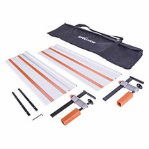 Evolution Power Tools ST1400 Track/Guide Rail For Circular Saws (Clamps and - $123.33