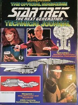 STAR TREK THE NEXT GENERATION 1992 Starlog Official TECHNICAL JOURNAL Ma... - $11.87