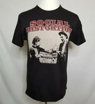 Social Distortion Mens M T-Shirt 2011 Spring Tour Band Tee w/ Dates NWOT - $24.99