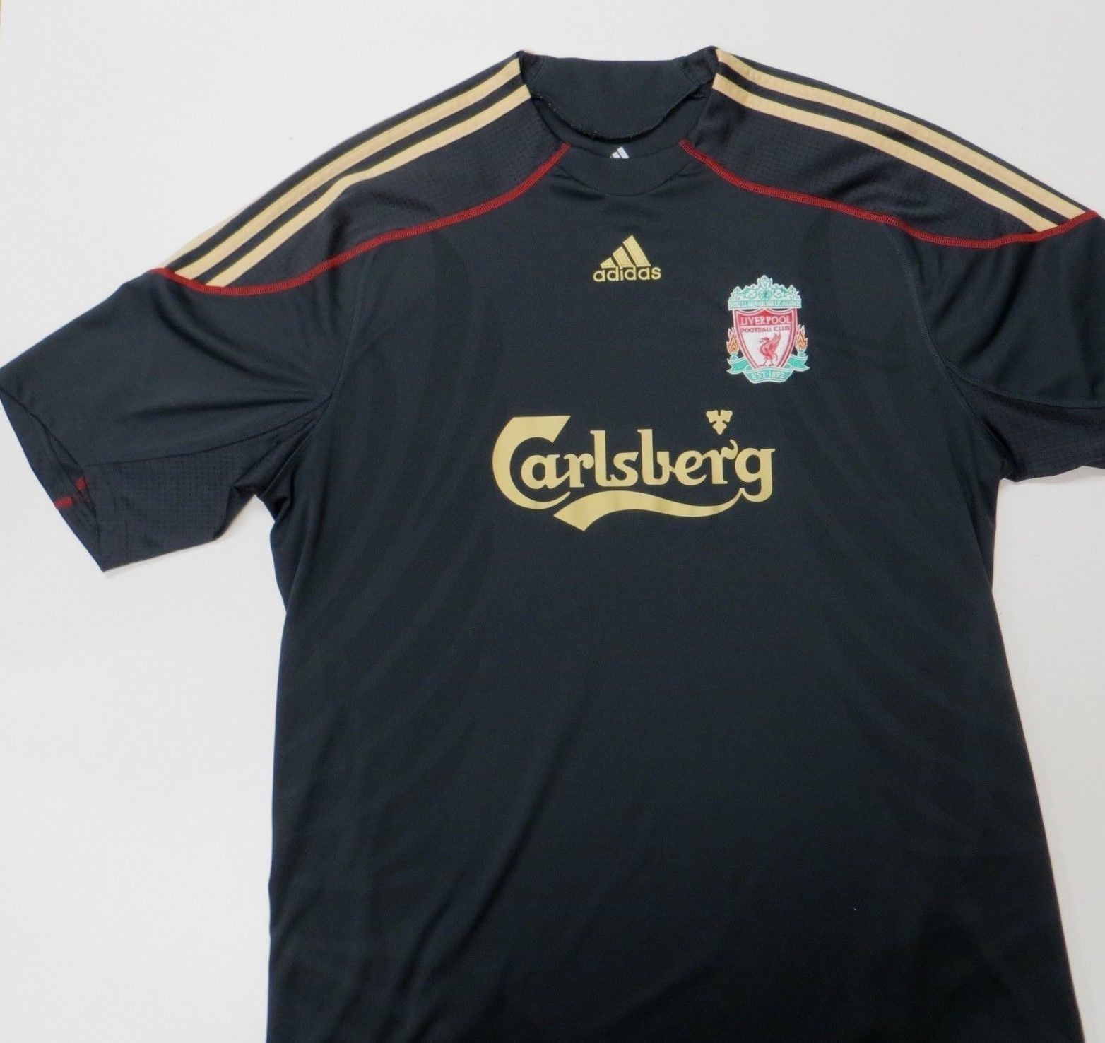 uk availability 816a2 32cea Adidas Liverpool England 2009 2010 Away and 50 similar items