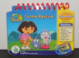 Leap Frog My First LeaPad  Dora The Explorer Dora to the Rescue Book Only - $9.50