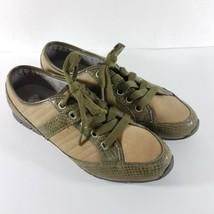 Rockport Women's Size 8.5 M Walking Shoe Gray Suede Lace-Up Sneakers - $39.87