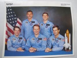 NASA Crew Space Shuttle mission 51-J 10x8 litho glossy print photo ATLAN... - $9.84