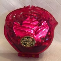 1996 very rare Polly pocket bluebird sweet roses compact Case Only - $16.82