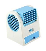 PANDA SUPERSTORE Mini Handheld Portable Fan Air Conditioner Water Cooler USB, Bl