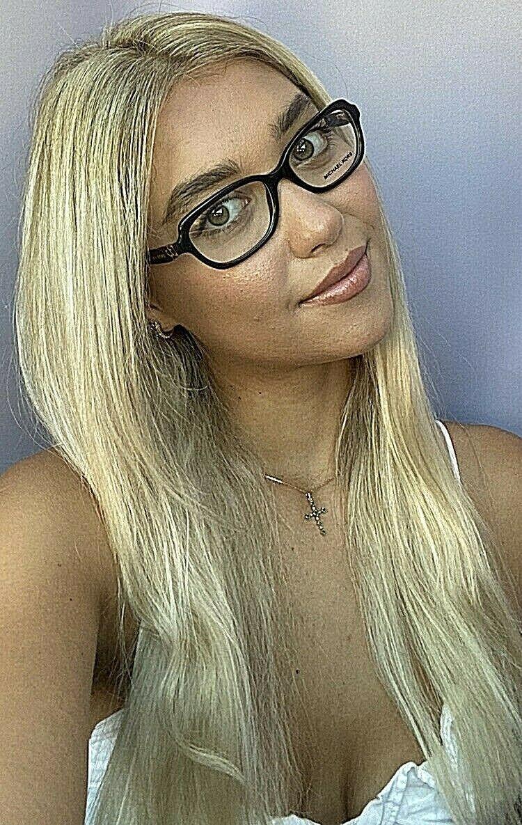 New MICHAEL KORS MK 2540 8530 51mm Brown Women's Eyeglasses Frame D - $69.99