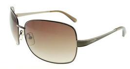 Calvin Klein 7416S 230 Brushed Bronze / Brown Gradient Sunglasses - $48.51