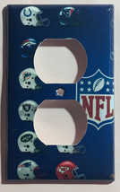 American Teams football Light switch outlet Wall Cover Plate Home decor image 2