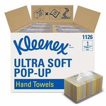 Kleenex Hand Towels 11268, Ultra Soft and Absorbent, Pop-Up Box, 18 Boxe... - $53.83