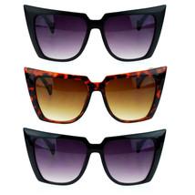 Womens 80s Punk Goth Devil Horn Cat Eye Sunglasses - $9.95