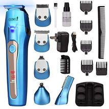 Ceenwes Cool 5 In 1Mens Grooming Kit Professional Beard Trimmer Rechargeable Ha image 9