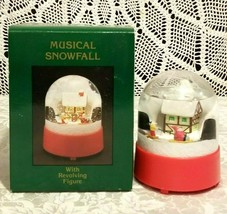 Willitts Designs  Musical Snowfall with Revolving Figure - $9.89