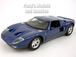 Ford GT Concept Coupe 1/24 Scale Diecast Metal Model - BLUE - $29.69