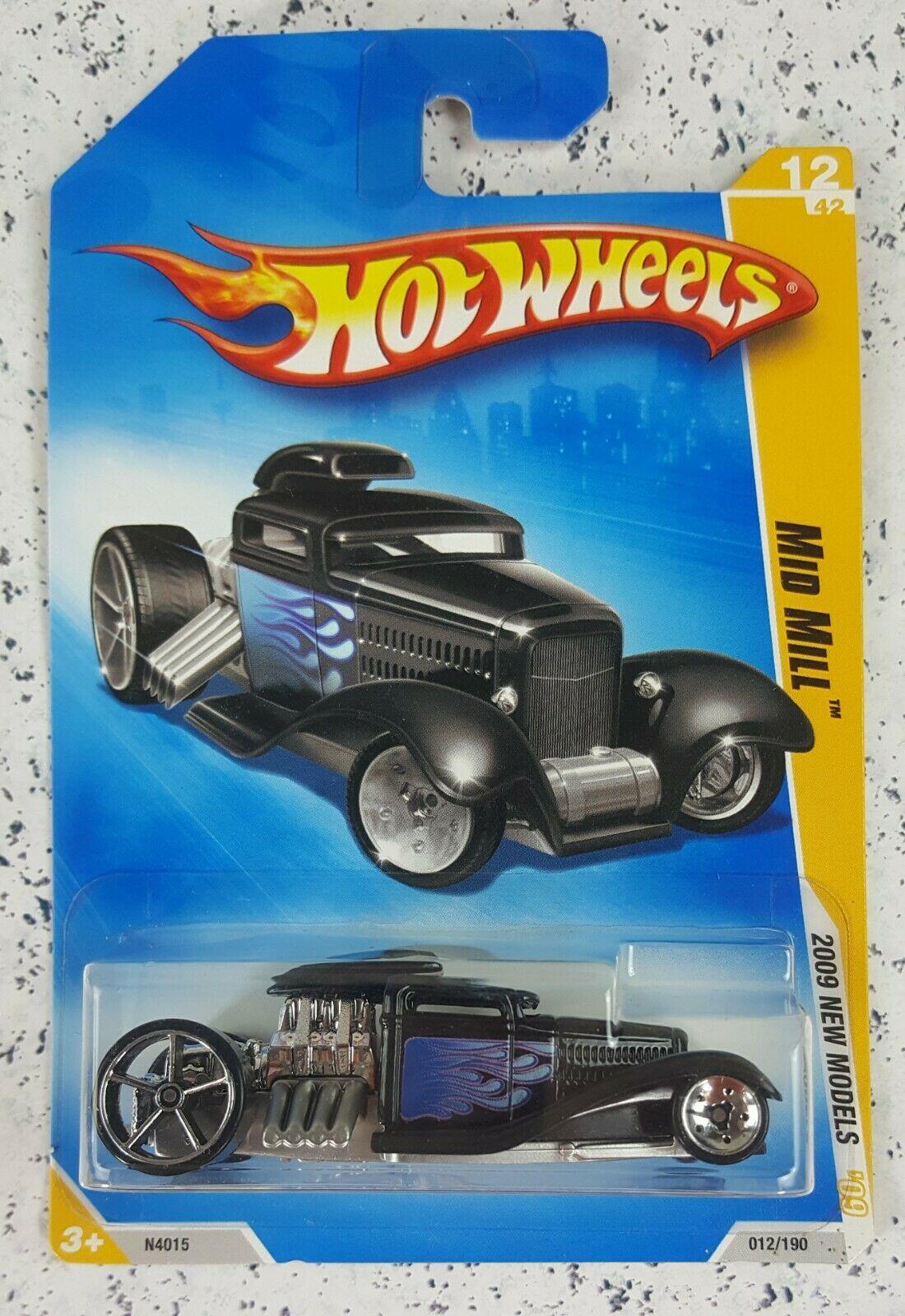 Hot Wheels 1:64 2009 New Models Mid Mill 12/42 12/190 - $8.99