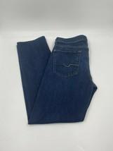 7 For All Mankind Men's Slimmy Dark Wash Blue Denim Jeans - Size 32x29 - $49.49