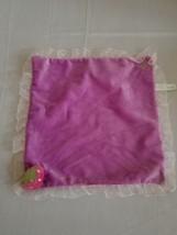 Disney Babies Purple Strawberry lovey Security  blnaket - $9.00