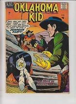 Oklahoma Kid #2 VG august 1957 - native american on cover - western cowb... - $92.99