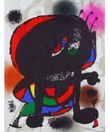 MIRO ORIGINAL LITHOGRAPH 3 III w/COA Joan Miró litógrafo invest or gift ... - $204.86