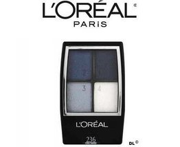 L'oreal Studio Secrets Professional Eye Shadow Quad, 236 Cobalt smokes (... - $22.00