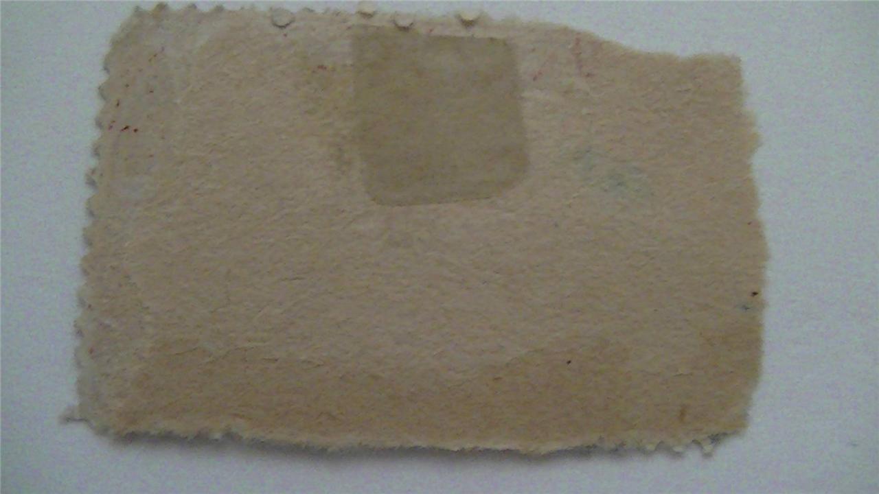 Vintage Railway Postal Clerk Carmine USA Used 3 Cent Stamp
