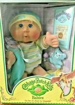 Cabbage Patch Kids Babies Blonde Blue Eyes Devon New In Box Sealed 2005 - $89.09