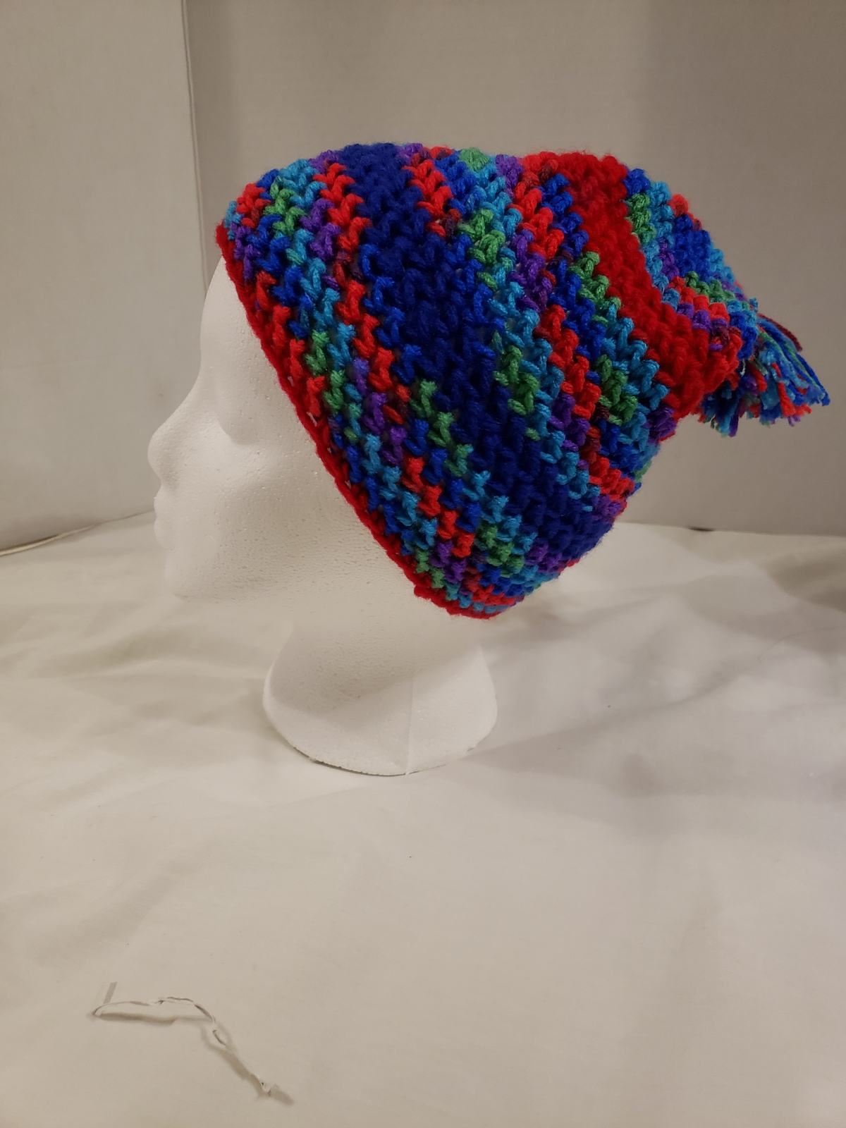 Hand Crochet Winter Hat (Multi-Color)