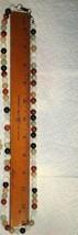 VTG RED WHITE BLACK GREEN JADE NECKLACE STERLING SILVER CHARM HOOP EARRI... - $297.99