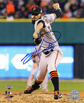 SERGIO ROMO Signed San Francisco GIANTS 2012 World Series Action 8x10 Ph... - $53.28