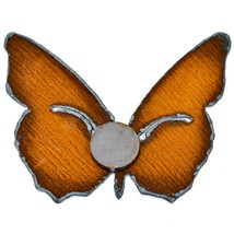 "Rustic Rusted Patina Iron Metal Cutout Butterfly 3"" Refrigerator Fridge Magnet image 2"