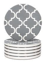 Y YHY Absorbent Stone Coaster Set, Drink Spills Coasters, Set of 6, Grey... - $317,80 MXN
