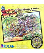 Sure-Lox Find Freddie Jungle Safari 100 Piece Puzzle. Glow in the Dark! - $19.59