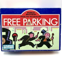 Vintage 1988 Parker Brothers Feed the Meter Free Parking Board Game Comp... - $23.36