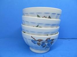 "BIA International Cordon Bleu 5 1/4"" Footed Cereal Rice Bowls Set Of 4 B... - $28.42"
