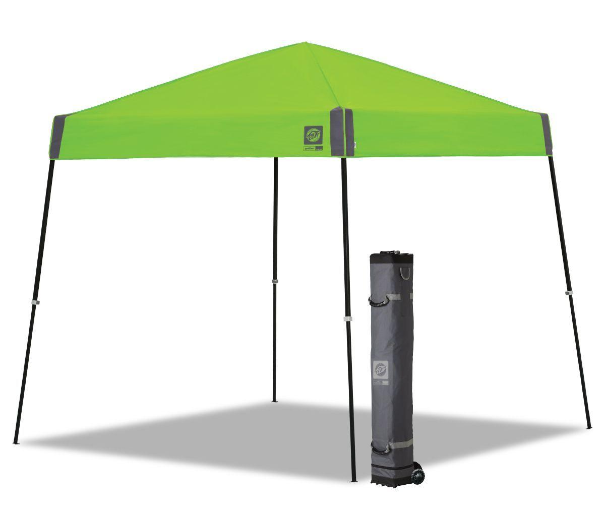 E-Z UP SPRINT 10'x10' Kiwi Top Black Frame Recreational Canopy EzUp Ez Up Ez-Up - $150.99