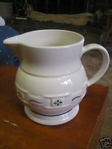 "Magnicent LONGABERGER  Heritage Green Pitcher ...7.5"".....Made in USA...... - $19.80"