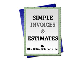Simple Invoices & Estimates by BBN Online Solutions - Freelancer Contractor CD - $13.17
