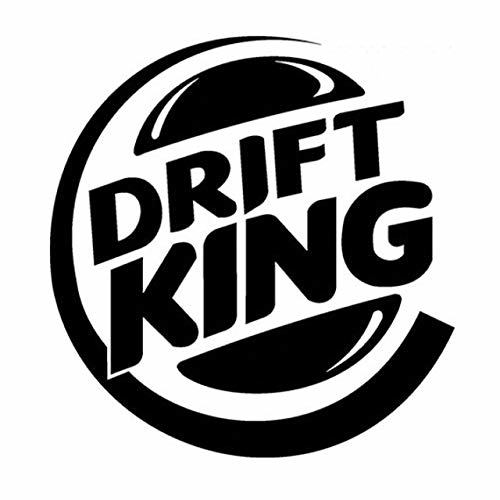 DECAL-STYLE - 12.1CMx12.7CM Drift King Racing Car Stylings Accessories Motorcycl